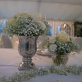 Hochzeitsdekoration, Zelt